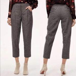 Aritzia Wilfred Chambery Wool Tweed Plaid Pant 2